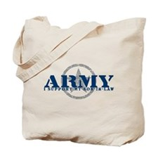 Army - I Support My Son-in-Law Tote Bag