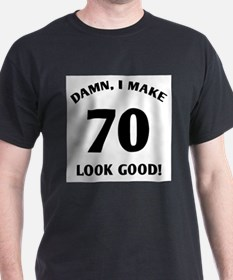 Sexy 70th Birthday Gif T-Shirt