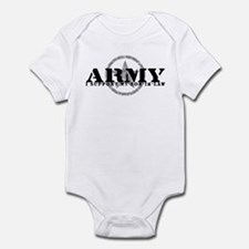 Army - I Support My Son-in-Law Infant Bodysuit