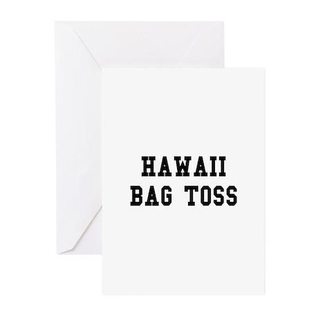 Hawaii Bag Toss Greeting Cards (Pk of 10)