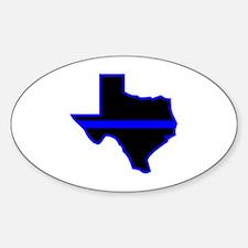 Texas Blue Lives Matter Decal