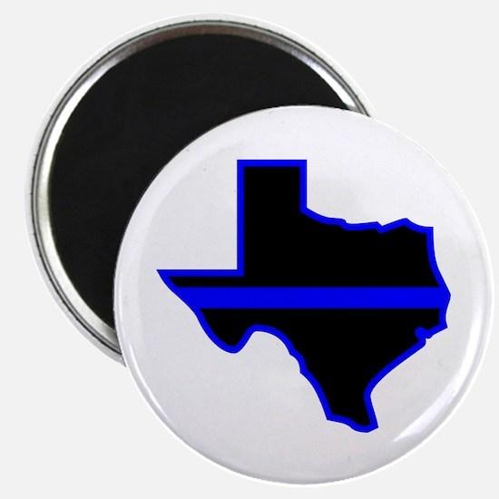 Texas Blue Lives Matter Magnets