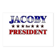 JACOBY for president Postcards (Package of 8)