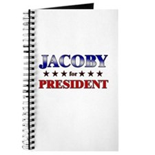 JACOBY for president Journal