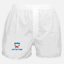 Jenna - Little Miss Crabby Boxer Shorts