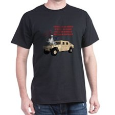 Special Delivery Warning via Hummer T-Shirt