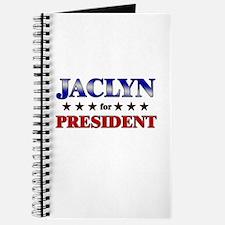 JACLYN for president Journal