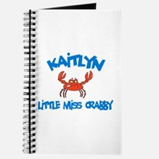 Kaitlyn - Little Miss Crabby Journal