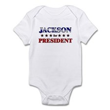 JACKSON for president Infant Bodysuit