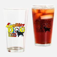 Gordon Setter Agility Drinking Glass