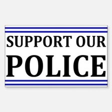 Support Our Police Decal