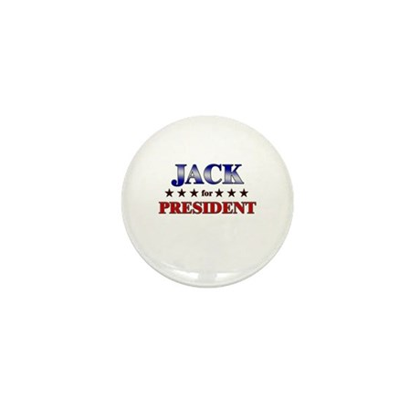 JACK for president Mini Button (10 pack)