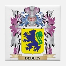 Dudley Coat of Arms (Family Crest) Tile Coaster
