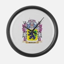 Dudley Coat of Arms (Family Crest Large Wall Clock