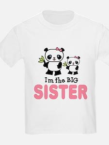 I'm Big Sister Panda Baby T-Shirt