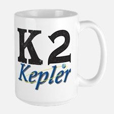 Kepler K2 Mission Logo Large Mug Mugs