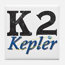 Kepler K2 Mission Logo Tile Coaster