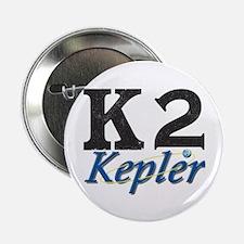 """Kepler K2 Mission Logo 2.25"""" Button"""