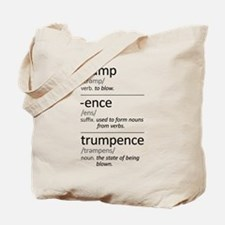 Trumpence Definition Tote Bag