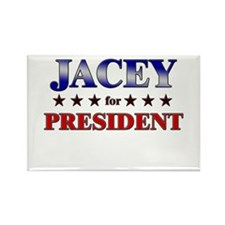 JACEY for president Rectangle Magnet