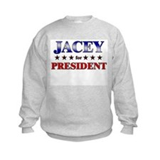 JACEY for president Jumpers