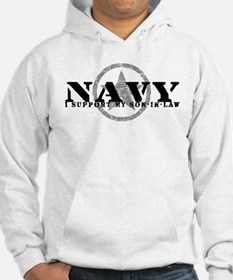 Navy - I Support Son-in-Law Hoodie