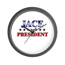 JACE for president Wall Clock
