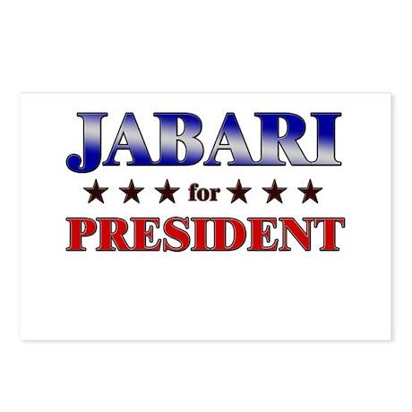 JABARI for president Postcards (Package of 8)
