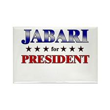 JABARI for president Rectangle Magnet