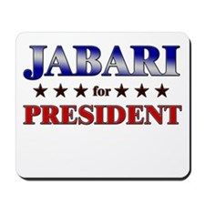 JABARI for president Mousepad