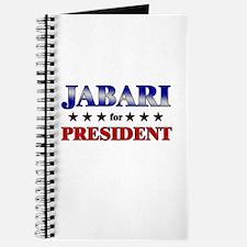 JABARI for president Journal