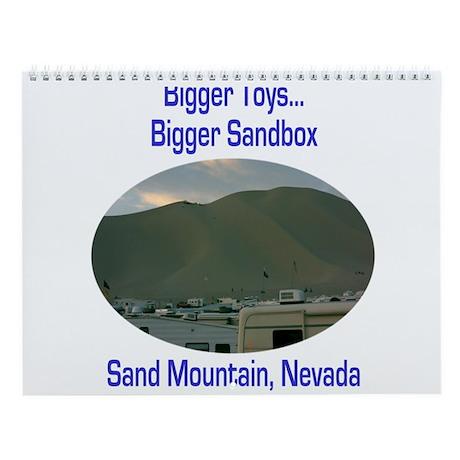 Sand Mountain Wall Calendar