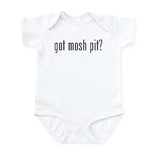 got mosh pit? Infant Bodysuit