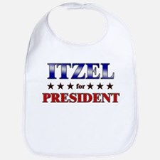 ITZEL for president Bib