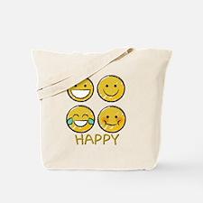 Cute Face Tote Bag