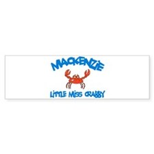 Mackenzie - Little Miss Crabb Bumper Bumper Sticker