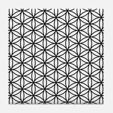 Cool Sacred geometry Tile Coaster