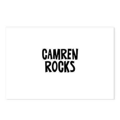 Camren Rocks Postcards (Package of 8)