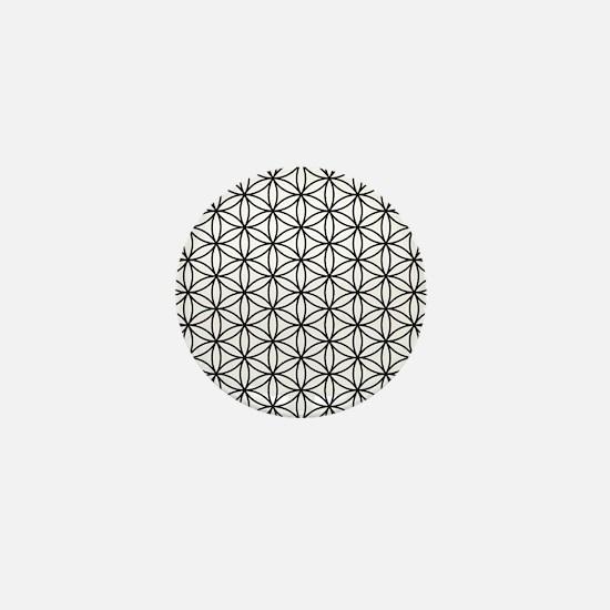 Unique Sacred geometry Mini Button