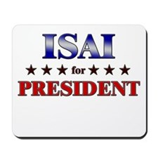 ISAI for president Mousepad