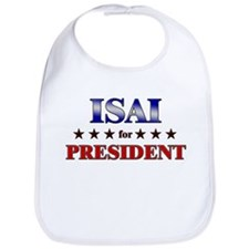ISAI for president Bib