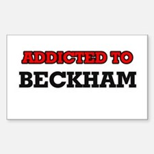 Addicted to Beckham Decal