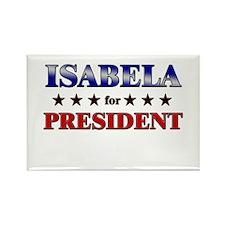 ISABELA for president Rectangle Magnet