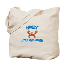 Molly - Little Miss Crabby Tote Bag