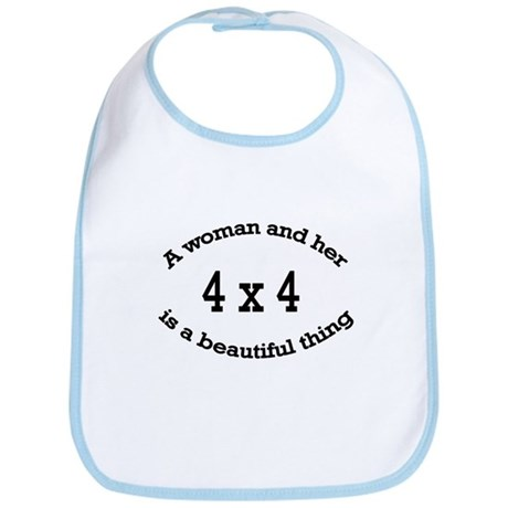 A woman and her 4x4 is a beau Bib