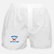 Natalie - Little Miss Crabby Boxer Shorts