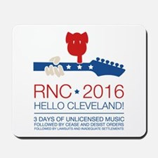 rnc convention Mousepad