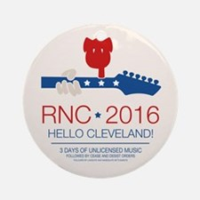 rnc convention Round Ornament