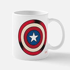 Captain America Comic Shield Mug