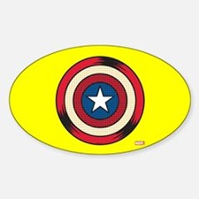 Captain America Comic Shield Decal